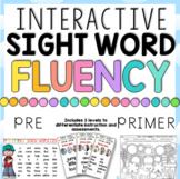 Sight Word Fluency Fun Pre-Primer