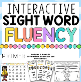 Sight Word Fluency Fun Primer