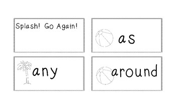 Sight Word Fluency Game