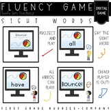 Sight Words | Fluency Game | Project and Play | Digital