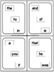 Sight Word Fluency Game-Levels 1-4