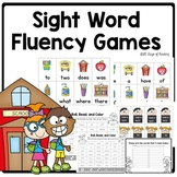 Back to School Sight Word Fluency Games
