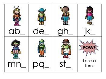 Kindergarten Alphabet Game