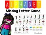 Missing Letter Game Last Letter