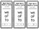 Sight Word Fluency Lists for homework, independent practice, etc.-Zeno words