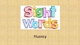 Sight Word Fluency PPT