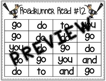 Sight Word Fluency Passage #12: DO