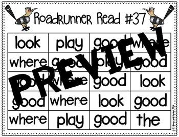 Sight Word Fluency Passage #37: GOOD