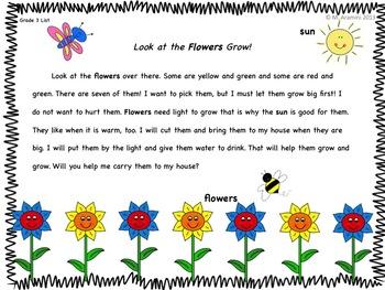 Sight Word Fluency Passages (intervention)-20 Leveled Passages-Vol. 1