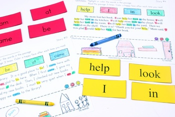 Sight Word Fluency Passages For Reading Intervention and Distance Learning