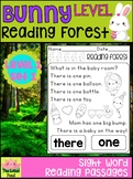 Sight Word Fluency Passages & Intervention - Reading Forest Bunny Level 1