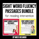Sight Word Fluency Passages for Reading Intervention BUNDL