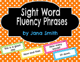 Sight Word Fluency Phrases