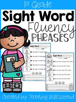 Sight Word Fluency Phrases (Set 3)