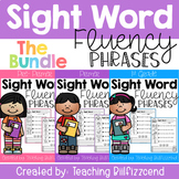 Sight Word Fluency Phrases (The Bundle)