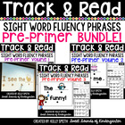 Sight Word Fluency Phrases {Track and Read Pre-Primer GROWING BUNDLE}