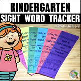 Sight Word Tracker (Journeys Sight Words Kindergarten Supplement)