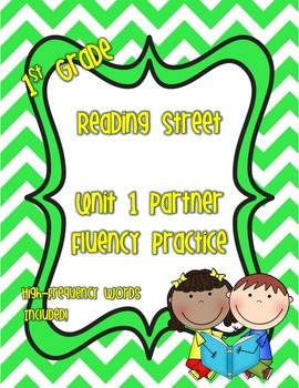 Sight Word Fluency Practice - Unit 1