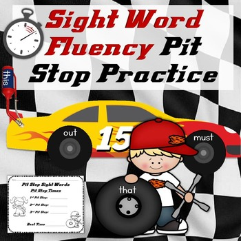 Sight Word Fluency Practice Dolch Sight Words (Editable)