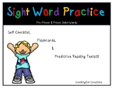Sight Word Fluency Practice/ Flash Cards