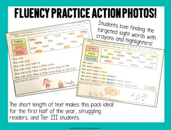 Sight Word Fluency Practice 3 (Fry Words 201-300)