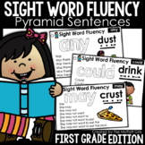 Sight Word Fluency (Pyramid Sentences) First Grade Edition