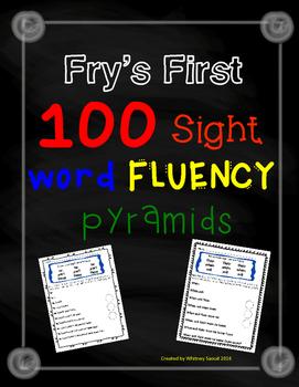Sight Word Fluency Pyramids
