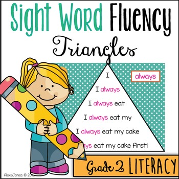 Sight Word Fluency Pyramids - Second Grade