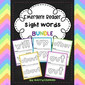 Sight Word Fluency Readers BUNDLE (will, up, other, about, out)