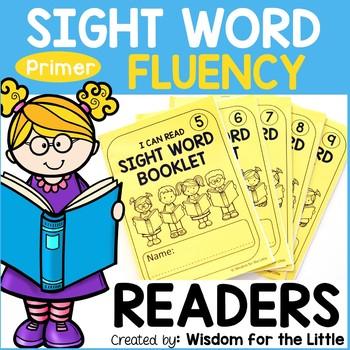 Sight Word Fluency Readers - Primer