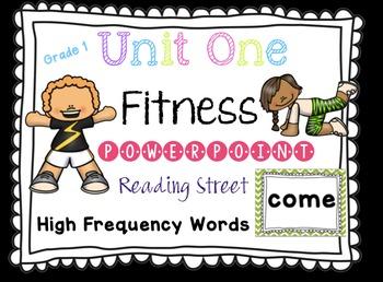 Sight Word Fluency - Reading Street  Grade 1 Unit 1 Brain