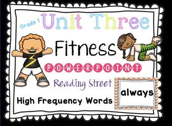 Sight Word Fluency - Reading Street  Grade 1 Unit 3 Brain