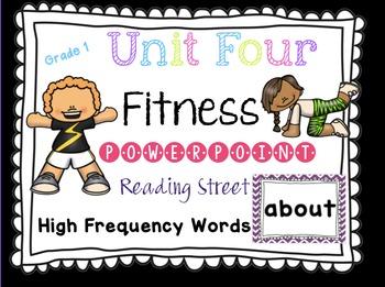 Sight Word Fluency - Reading Street  Grade 1 Unit 4 Brain