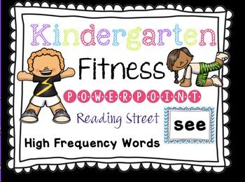 Sight Word Fluency - Reading Street  Kinder Review Brain B