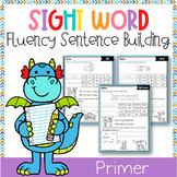 Sight Word Fluency Sentence Scramble (Primer)