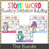 Sight Word Fluency Sentence Scramble (The Bundle)