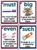 Sight Word Fluency Sentence Cards Bundle (Small Cards)