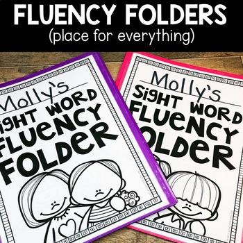 Sight Word Fluency Sticks   Sight Word Fluency Practice