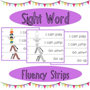 Sight Word Fluency Strips