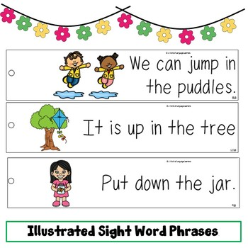 Sight Word Fluency Strips GROWING Bundle