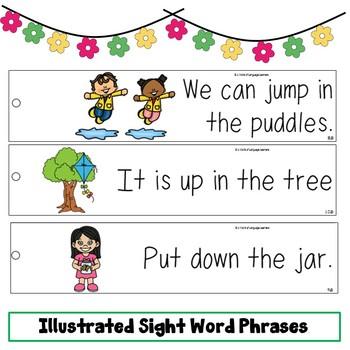 Sight Word Fluency Strips Bundle