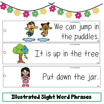 Sight Word Fluency Practice Spring