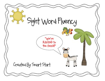 Sight Word Fluency Tracking