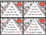 Sight Word Fluency Pyramid Task Cards {Pre-Primer Dolch Si