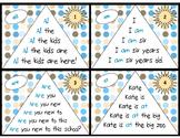 Sight Word Fluency Pyramid Task Cards {Primer Dolch Sight Word Set}
