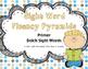 Sight Word Fluency Pyramid Task Cards {Primer Dolch Sight
