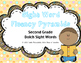 Sight Word Fluency Pyramid Task Cards {Second Grade Dolch Sight Word Set}