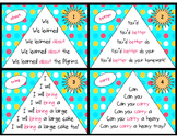 Sight Word Fluency Pyramid Task Cards {Third Grade Dolch S