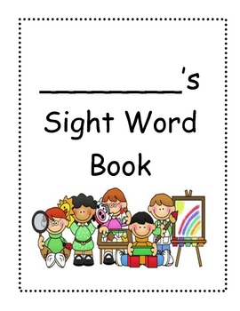 Sight Word Fluency Wordbook