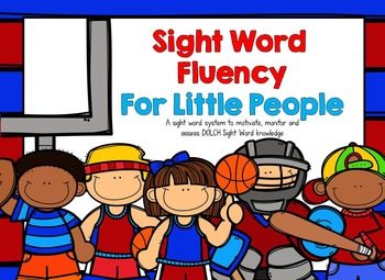 DOLCH Sight Word Fluency for Little People: The BUNDLE